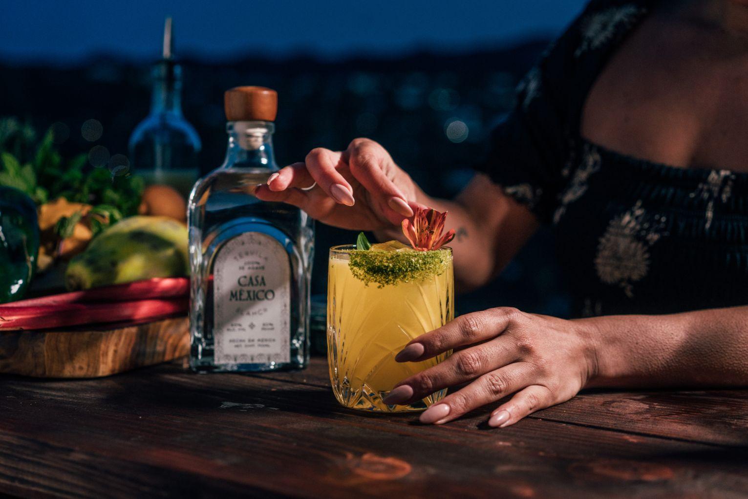2 A perfect cinco de mayo tequila